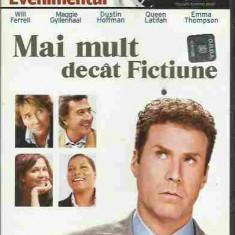 FILM - Will Ferrel, Maggie Gyllenhaal - MAI MULT DECAT FICTIUNE (DVD) - Film drama, Romana