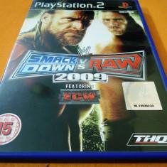 Joc WWE Smack down vs Raw 2009, PS2, original, alte sute de jocuri! - Jocuri PS2 Thq, Actiune, 16+, Multiplayer