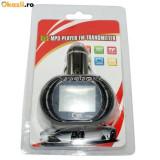 Modulator FM cu Telecomanda 4 in 1 MP3 slot card SD MMC USB Alegere folder