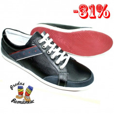 Pantofi barbati Dia, Piele naturala - Pantofi sport piele naturala barbati