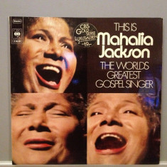 Mahalia Jackson - The Worlds Greatest Gospel -2LP- (1970/ CBS Rec/ RFG ) - Vinil - Muzica Jazz Columbia