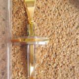 Medalion Cruciulita INOX placat = 30 ron - Pandantiv inox