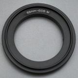 Canon EOS M - 55mm Inel adaptor inversor macro