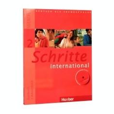 Schritte International 2 (A1/2 - Kursbuch + Arbeitsbuch + CD Audio) - Curs Limba Engleza