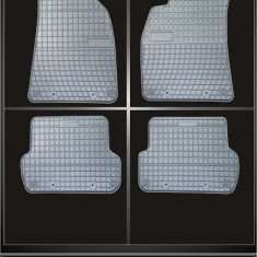 Covoare cauciuc AUDI A4-B6 typ 8E 2000-2004 GRI - Covorase Auto, A4 Avant (8E5, B6) - [2001 - 2004]