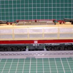 Macheta Feroviara, 1:87, HO, Locomotive - Locomotiva electrica BR103 marca Lima scara HO(3623)