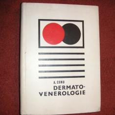 Carte Dermatologie si venerologie - Dermato-venerologie - A. Conu