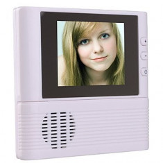 Interfon - Vizor de usa cu camerera video IR ecran LCD si sonerie