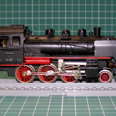 Macheta Feroviara, 1:87, HO, Locomotive - Locomotiva abur BR24002 marca Gutzold scara HO(3829)