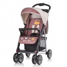 Carucior Baby Max Nicole 2 In 1 Cu Scaun Auto Brown - Carucior copii 2 in 1