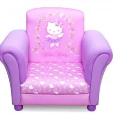 Set mobila copii - Fotoliu Cu Cadru Din Lemn Hello Kitty