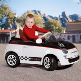 Peg Perego - Fiat 500 12V White/Black