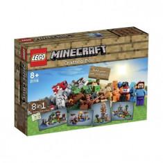 """LEGO Minecraft - Legoâ® Minecraftâ""""¢ Cutie De Crafting - L21116"""