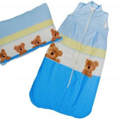 Sac De Dormit Cu Pernita Cadou 130X80 Cm - Sac de dormit copii