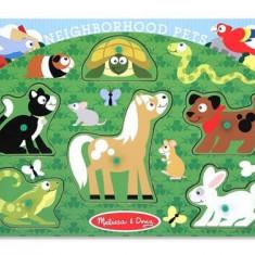 Puzzle Melissa & Doug Lemn Animale De Companie Melissa And Doug