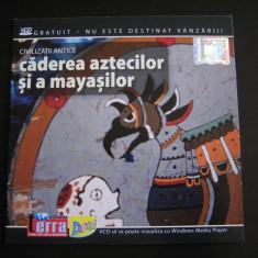 Caderea aztecilor si a mayasilor - DVD - Film documentare Altele, Romana