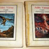 Carte de povesti - Copii Capitanului Grant - Jules Verne / 2 volume