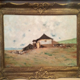 Tablou Pictura semnat Constantin Ionescu (Constion), Peisaje, Ulei, Impresionism
