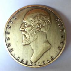 Medalie masonica loja Eugeniu Carada mason aniversare freemason 60 mm, Europa, An: 2011