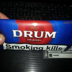 Tutun Drum 50gr fabricat in UK. 25 lei/pachet 50gr.