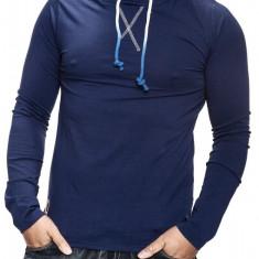 Bluza Barbati Carisma Bleumarin cu Gluga 3073, Marime: S, M, L, XL, Culoare: Din imagine