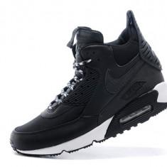 Ghete barbati - Adidasi Nike Air Max 90 Sneakerboot Charcoal