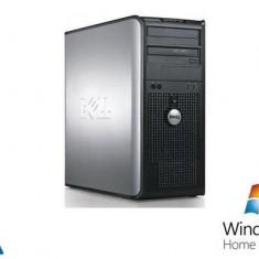 Sisteme desktop fara monitor - Dell Optiplex 380, Intel Pentium Dual Core E5700, 3.0Ghz, 2Gb DDR2, 160Gb HDD, DVD-RW + Windows 7 Home Premium