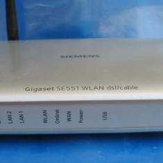 Router Alta Wireless Siemens Gigaset SE551, Port USB, Porturi LAN: 4, Porturi WAN: 1