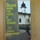 Carte despre Paranormal - Dialoguri despre cele vazute si cele nevazute C. Balaceanu - Stolnici 1995
