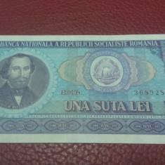 100 lei 1966 UNC, An: 1966