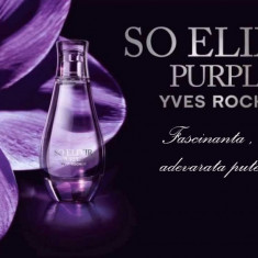 Parfum Yves Rocher, Apa de parfum, Floral, De seara - Apa de parfum So Elixir Purple, 50 ml - sigilat