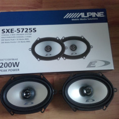 Difuzoare-auto Alpine Custom-Fit SXE-5725S - Boxe auto Alpine, 41-80W