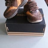 Pantofi adidasi unisex 20 - Adidasi copii, Culoare: Maro