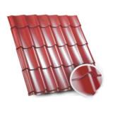Tigla metalica Bilka Clasic 35/40 / 0.5 - nuante mate