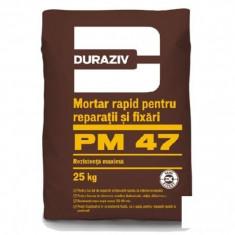 Mortar rapid pentru reparatii si fixari Duraziv PM 47 - 5 kg - Ciment