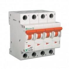 Siguranta automata modulara Moeller-Eaton PLSM-B40/4 curba B - 10 kA - Electromagneti