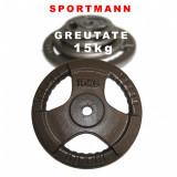 Greutate pentru bara 15 kg/31mm Sportmann