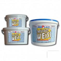 Vopsea auto - Vopsea alba pentru interior Mister Weiss - 15 L