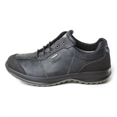 Pantofi impermeabili barbatesti din piele, marca Grisport (GR8607DV7G) - Pantofi barbati Grisport, Marime: 43, 44, Culoare: Negru
