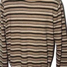 Pulover Tommy Hilfiger, bumbac si lana, marime L - Pulover barbati