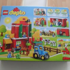 Vand Lego Duplo-10525-Big Farm, original, sigilat, 121 piese, 2-5 ani