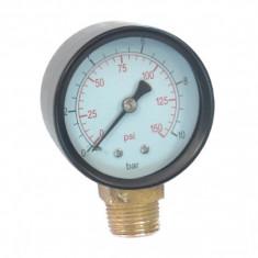 Manometru radial pentru apa 0-10 bar