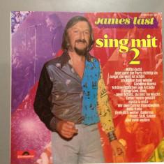 James Last - Sing with - Best Of - (1974/ Polydor/ RFG ) - Vinil/Vinyl/Impecabil - Muzica Dance universal records