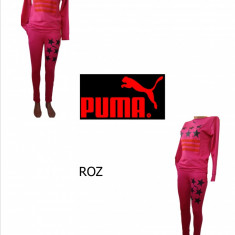 TRENINGURI DAMA PUMA, MATERIAL BUMBAC, LIVRARE GRATUITA, CALITATE FOARTE BUNA! - Trening dama Puma, Marime: XS, S, M, L, Culoare: Roz