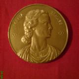 Medalii Romania, An: 1980 - Medalie,, in memoriam,, Maria Tanase, bronz 50 mm