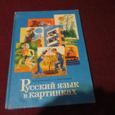 MANUAL LIMBA RUSA 2 FOARTE MULTE ILUSTRATII 1988