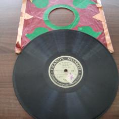 Placa gramofon/patefon muzica frantuzeasca