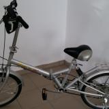 Bicicleta pliabile, 17 inch, 16 inch, Numar viteze: 7 - Vand bicicleta pliabila Metropolis