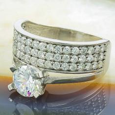 Inel argint - Inel din Argint 925, cu Zirconiu, cod 661