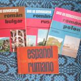 GHID DE CONVERSATIE (OFERTA 4 GHIDURI!!!) ROMAN / SPANIOL - RUS - POLON - BULGAR